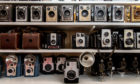Items from the Jim Matthew Camera Collection in St Monans