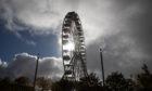 The Big Wheel in Slessor Gardens.