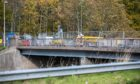 Work on the A90 Overpass