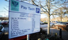 Parking fines paid to Perth and Kinross Council have risen by £200,000 over five years.