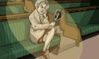 Cartoon created to go along with new play about Jennie Lee.