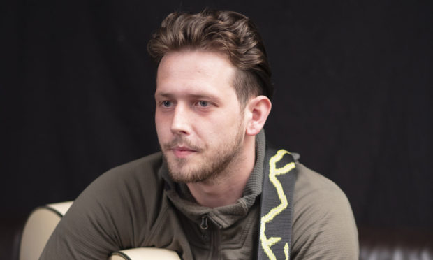 Dundee man Marcus Balfour (24), a father-of-three, is speaking out about the role of music and creativity as World Mental Health Day approaches