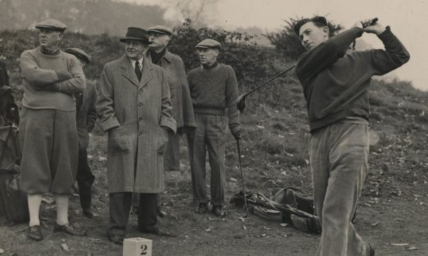 Harry Matheson was an excellent golfer.