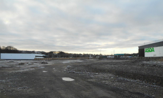 The vacant site at Myrekirk Road