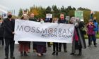 Alex Rowley MSP, Councillor Linda Holt, James Glen from MAG and Labour councillors Linda Erskine, Judy Hamilton, Alex Campbell and Mary Lockhart were among protesters at the site on Saturday.