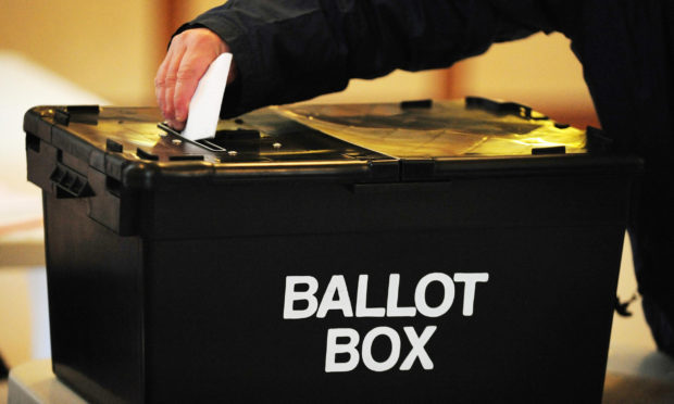 Perth residents will cast their votes next month.