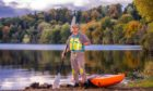 Piotr Gudan. owner of Outdoor Explorer, on the banks of Loch Clunie, Blairgowrie.
