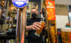 Colin poured the final drinks for a fortnight during last orders at The Bunker on Friday.