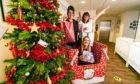 Gemma Brown, front,, with Kelly Rodgers, left,  and Pauline Buchan,