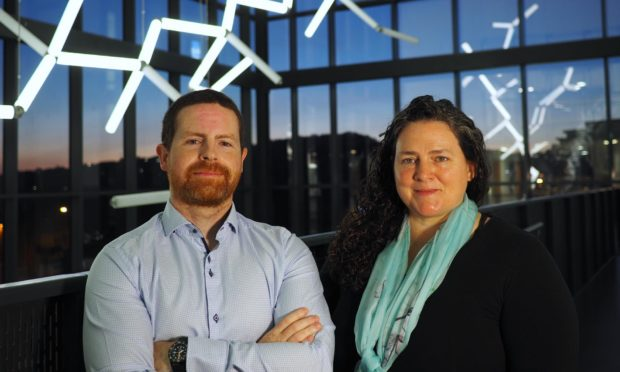Ten Bio founders Dr Michael Conneely and Dr Robyn Hickerson.