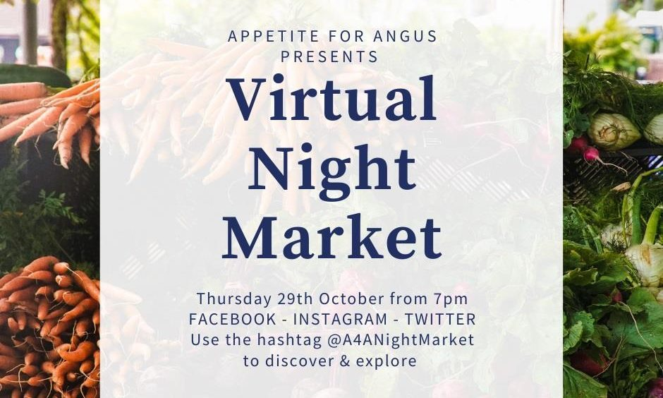 Virtual night market launch: How you can buy the very best in local Angus produce without leaving your sofa