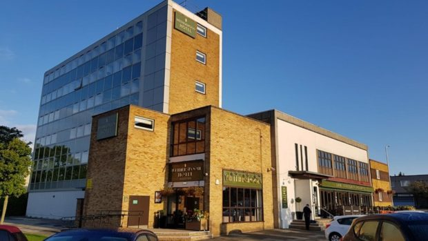 The Golden Acorn Wetherspoons hotel in Glenrothes town centre.