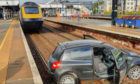 ScotRail posted this image of the car on the tracks at Stirling.