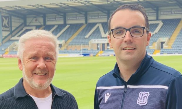 Craig Murray and Greg Fenton of DFC in the Community Trust.