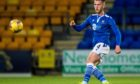 Jamie McCart starts a St Johnstone attack.