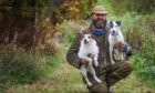 Craig Brown reunited with his two terriers days after they were stolen from his farm near Blairgowrie.