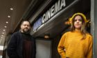Gavin and Emily Donaldson at the Kino Cinema in Glenrothes.
