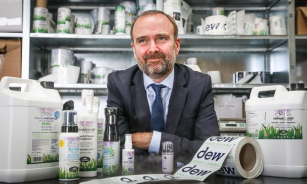 Erik Smyth, chief executive of Ecoanolytes