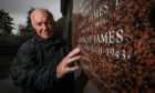 Local historian Steve Nicoll has secured the addition of James Gourlay's name to the town war memorial.