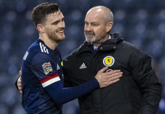 Andy Robertson and Steve Clarke.