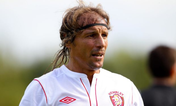 Caniggia ended his career with FC Wembley but could have played in another World Cup aged 43.