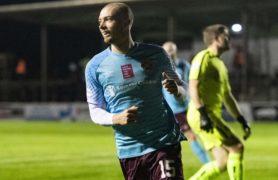 RAB DOUGLAS: Former Dundee man Craig Wighton turned his career around at Arbroath and can now be the Hearts number nine