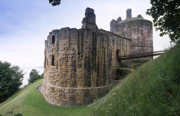 Ravenscraig Castle in Kirkcaldy.