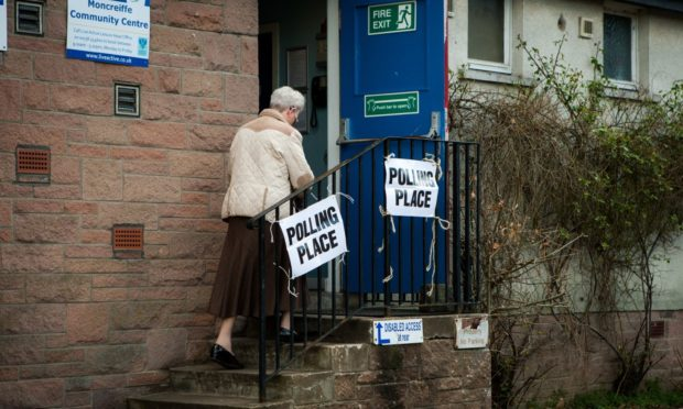 Residents in Letham, Tulloch, Oakbank, Craigie and Fairfield will all be voting on Thursday.