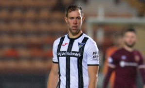 'It was nice to get one over them because they're title favourites': Dunfermline veteran Steven Whittaker delighted after victory over Hearts