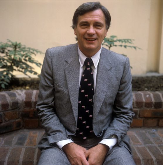 The late Sir Bobby Robson after his appointment as England manager in 1982.