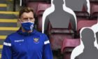 St Johnstone midfielder Liam Craig.