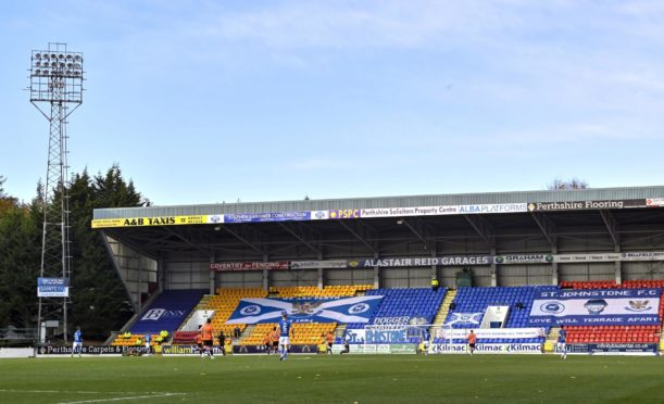 St Johnstone have become used to an empty McDiarmid Park may not even get to play their European game there