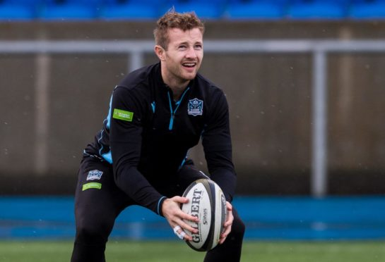 Stand-off Brandon Thomson is one of the young Glasgow players due to get more game time.