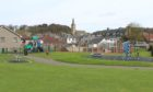 John Dixon Park in Markinch, where a man exposed himself to Primary School children.
