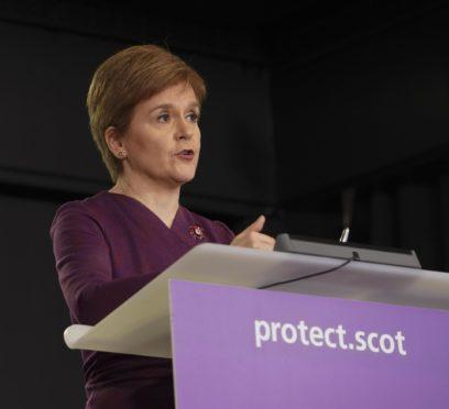 Nicola Sturgeon is considering a second lockdown