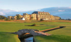 The iconic Old Course Hotel in St Andrews.