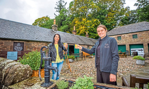 Gayle Ritchie heads to The Bothy Experience in Glamis. Here, she samples a wee gin with guide Erin Thomson.