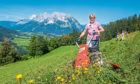 HILLS ARE ALIVE: Tourists pay to work on an Austrian farm, a concept VisitScotland thinks could work here.