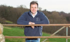 FIELD TRIAL: Niall Jeffrey reckons Dark Horse can help with forecasting harvest yield.