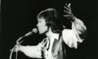 Sir Cliff performing at the Caird Hall in 1978 which was almost 20 years after his first appearance in Dundee in 1959 where the blue flashing lights of the police added to the atmosphere.