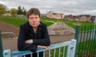 James Calder has denounced vandals who struck at the playpark