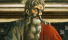 Last Supper detail of Apostle Andrew, fresco c.1444-50 (Andrea del Castagno) Art (Paintings)