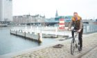 Former Copenhagen mayor Bo Asmus Kjeldgaard at the famous Copenhagen harbour bath.