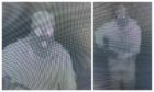 CCTV footage shows a thief in a balaclava outside Karelia House, Aberfeldy.