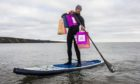 Jim Wight of Sup2summit makes Christmas shopping an adventure.