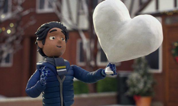 "John Lewis 2020 Christmas advert ""Give a little love""."