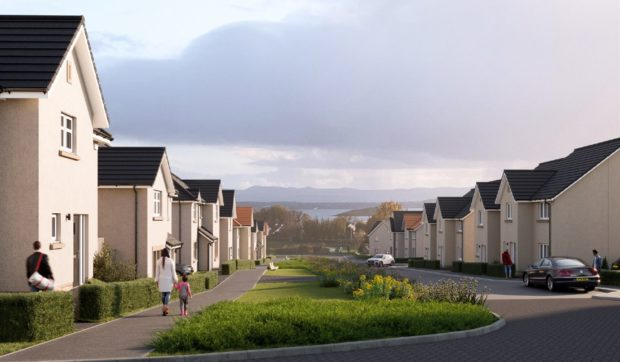 How the new homes in Aberdour might look.