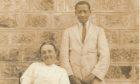 Minnie Watson with Charles Kasaja Stokes