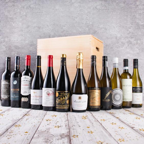 Christmas Mix Wine Gift (12 Bottles)