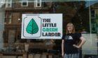 Jillian Elizabeth, owner of Little Green Larder, Perth Road